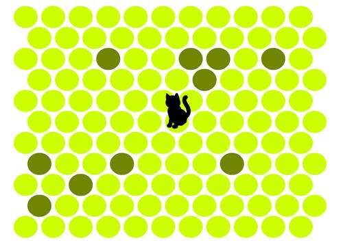 jeu flash encercler le chat. Black Bedroom Furniture Sets. Home Design Ideas